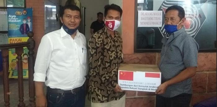 Khairuddin Syahputra Aktifis Islam di Medan Kembalikan Bantuan Konjen Tiongkok