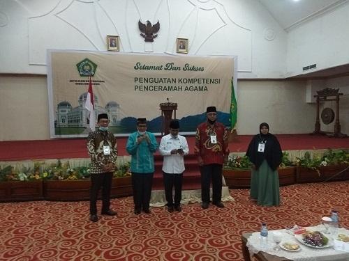 Kegiatan Pelatihan Mubaligh Kanwil Kemenag di Hotel Madani Medan