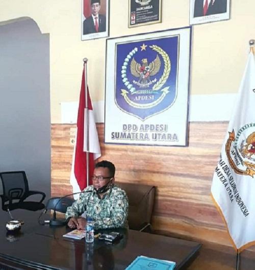 Ketua DPD Apdesi Sumatera Utara Suparman