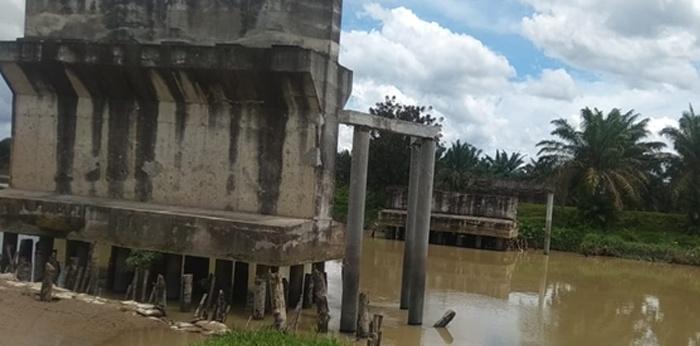 Disinyalir Kandas di Tangan PT TL, Ini Jembatan yang Terbengkalai di Tanjungbalai