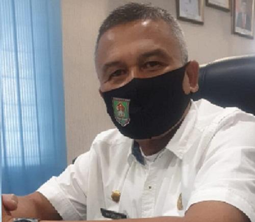 Juru Bicara Gugus Tugas Percepatan Penanganan Covid 19 Kabupaten Asahan H Rahmat Hidayat Siregar SSos MSi