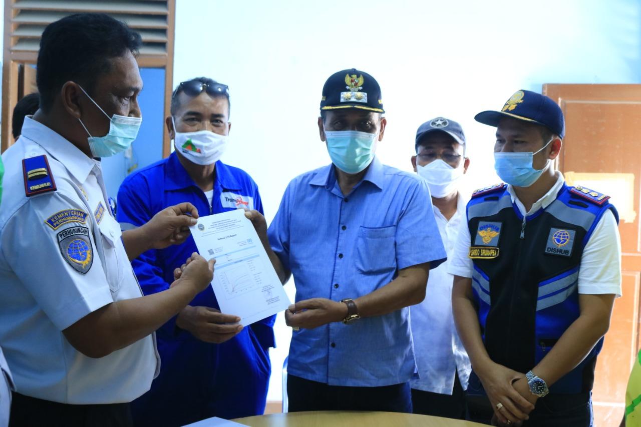 Wabup Samosir Monitoring Penyekatan Pintu Masuk Pelabuhan Simanindo