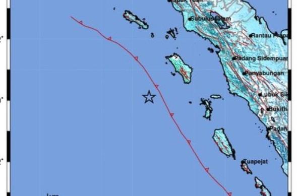 BMKG: Sebanyak 41 Gempa Susulan Terjadi di Nias Barat