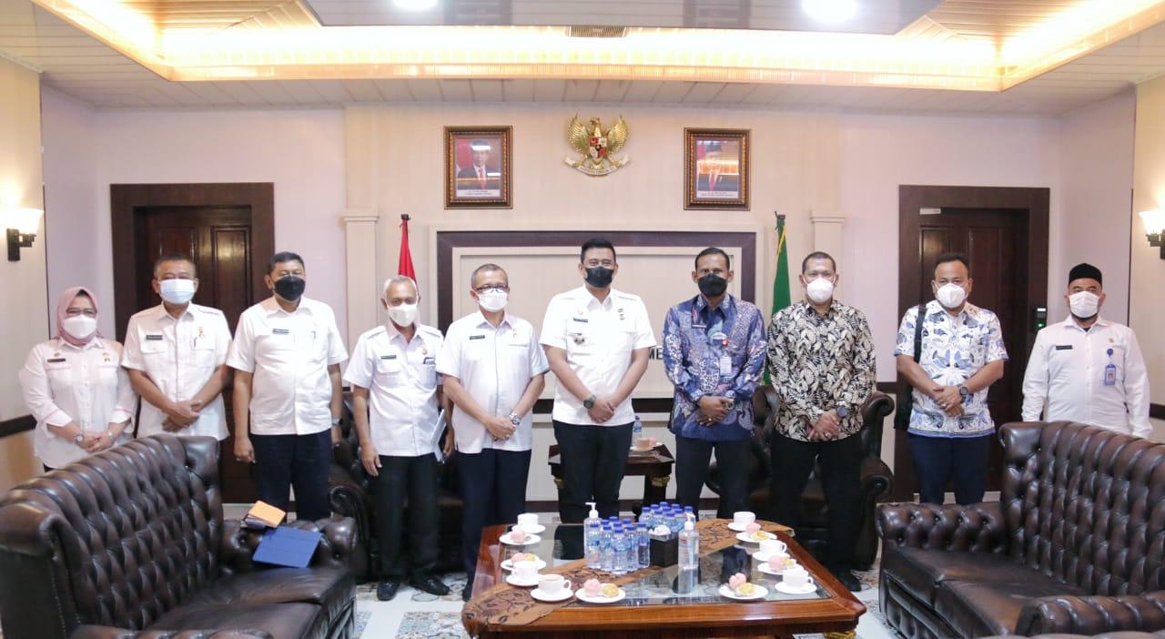 Dikunjungi Bupati Aceh Timur, Wali Kota Medan Berbagi Informasi Tentang Pengembangan Wisata Kuliner