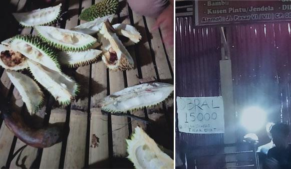Durian Busuk tak Boleh Ditukar Beredar di Tembung
