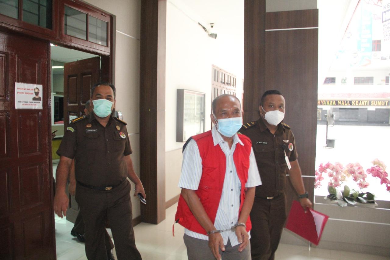 Kejatisu Taham Mantan Pimpinan KCP Galang PT. Bank Sumut Kasus Korupsi
