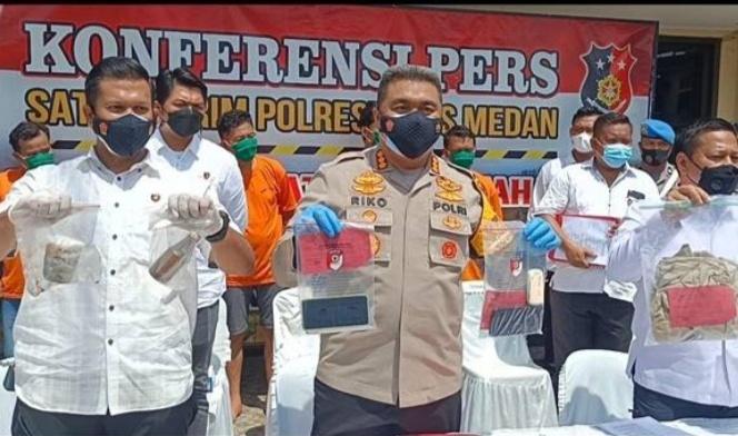 Permintaan Uang Pemicu Penyiraman Air Keras Wartawan di Medan, Upah Pelaku Rp13 Juta