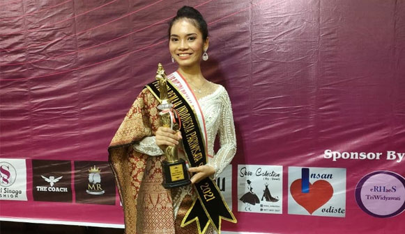 Wulan Oktaviana Lolos ke Ajang Pemilihan Puteri Remaja Indonesia Tahun 2021