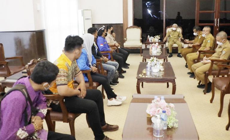 PC PMII Kabupaten Asahan Audiensi Bupati Asahan